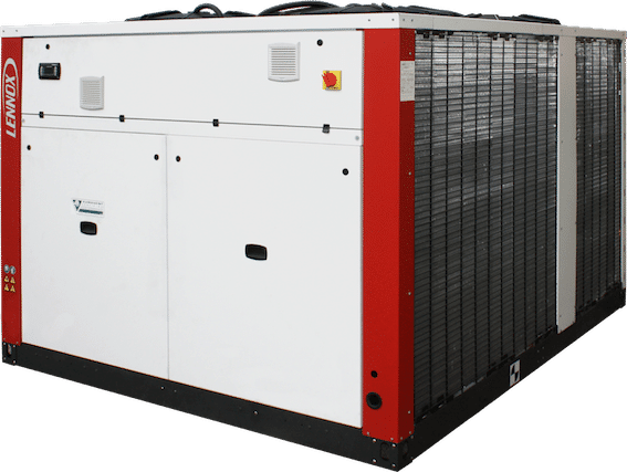 eCOMFORT, the new air cooled chiller & heat pump
